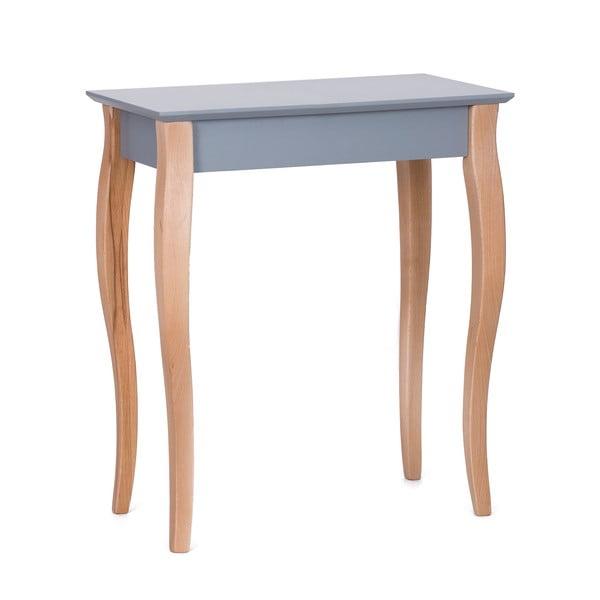 Console sötétszürke kisasztal, hossza 65 cm - Ragaba