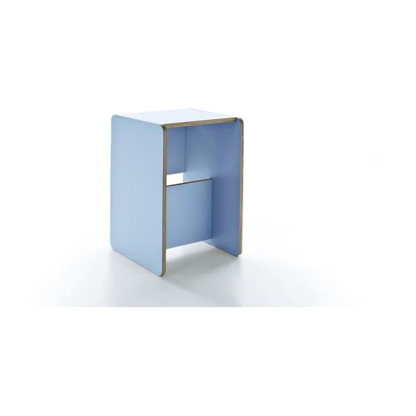 Rolle Light Blue, multifunkční stolek a schůdky