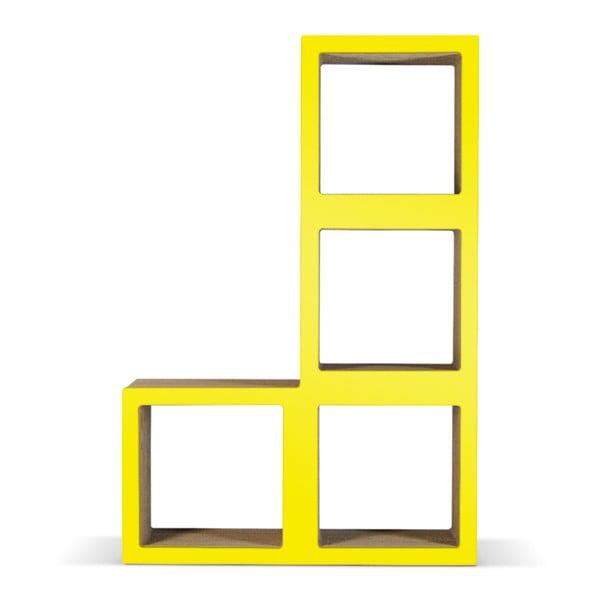 Kartonová knihovna Bit Ti Elle Yellow