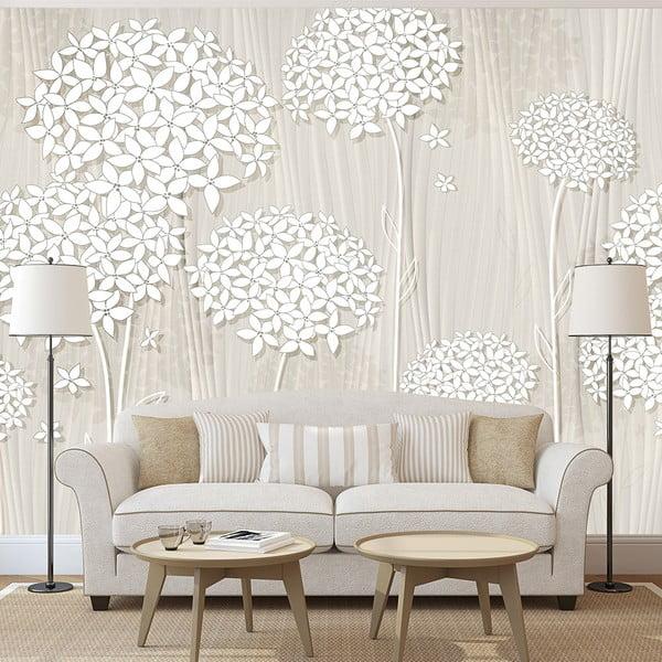Tapet format mare Bimago Creamy Daintiness, 400 x 280 cm