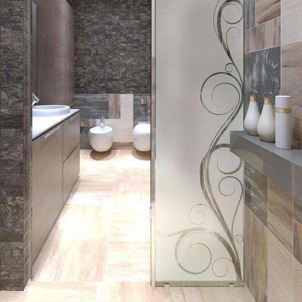 Voděodolná samolepka do sprchy Ambiance Seductive, 185 x 55 cm