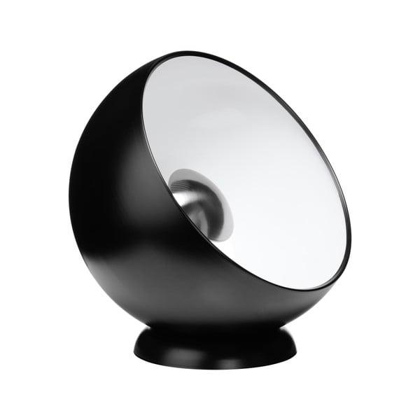 Stolní lampa Spot, černá/bílá