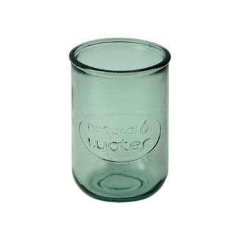 Pahar din sticlă reciclată Ego Dekor Water, 400 ml,verde