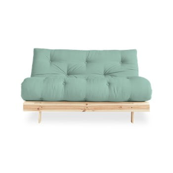 Canapea extensibilă Karup Design Roots Raw/Mint poza