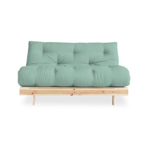 Sofa rozkładana Karup Design Roots Raw/Mint