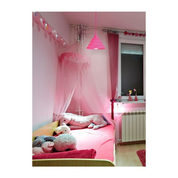 Stropní světlo Cotra Pink