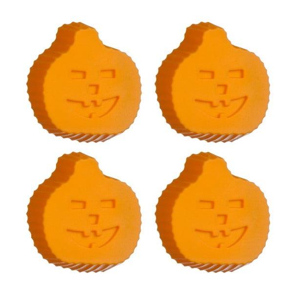 Set 4 forem Pumpkins