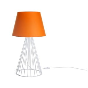 Stolní lampa Wiry Orange/White