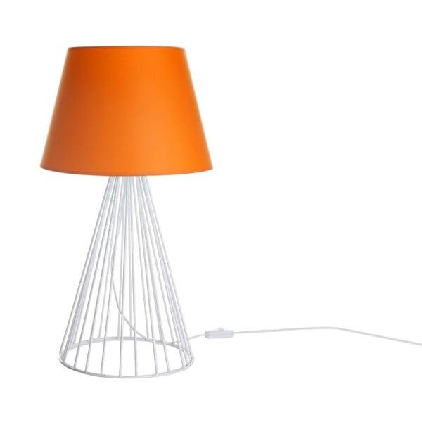 Stolní lampa Wiry Orange/White