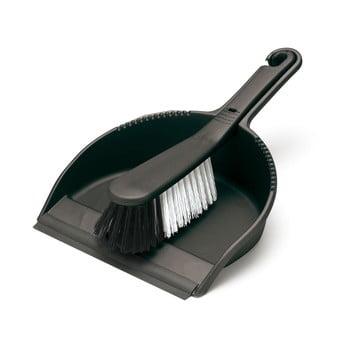 Set măturică și faraș Addis Dust, negru imagine