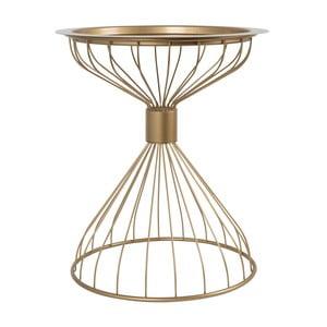 Příruční stolek ve zlaté barvě Zuiver Kelly