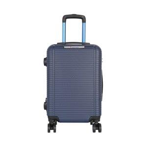 Modré kabinové zavazadlo na kolečkách Travel World Bobby