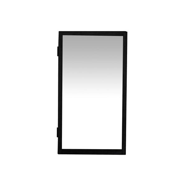 Czarna szafka na klucze Canett Uno