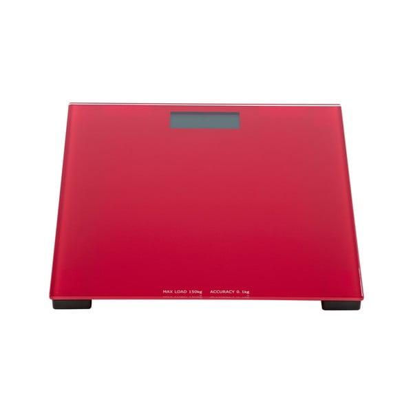 Osobní váha, červená