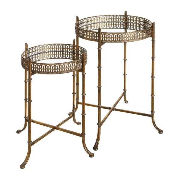 Set 2 odkládacích stolků Antique