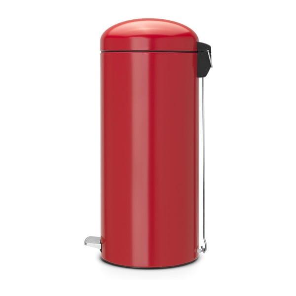 Pedálový koš Retro Passion Red, 30 l