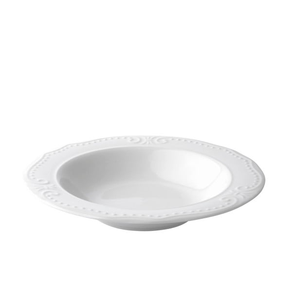 Sada 6 polévkových talířů Rosa