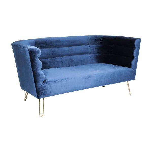 Modrá dvojmístná pohovka Kare Design Monaco