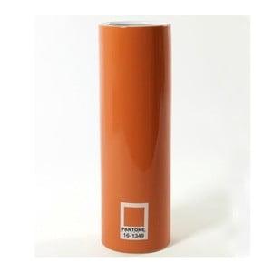 Váza Pantone Cylinder Orange, 20 cm