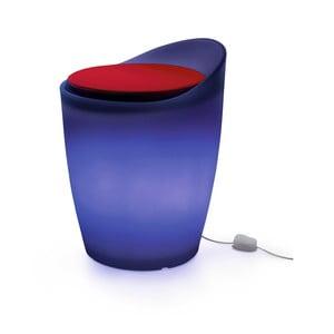 Světelná stolička Otto, modrá