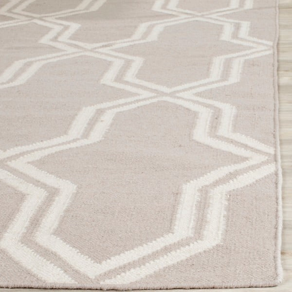 Šedý vlněný koberec Safavieh Aklim, 91x152 cm