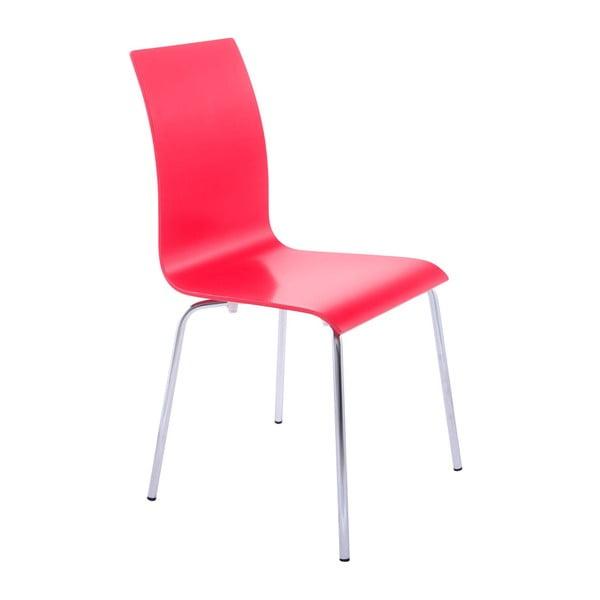 Červená jídelní židle Kokoon Classic