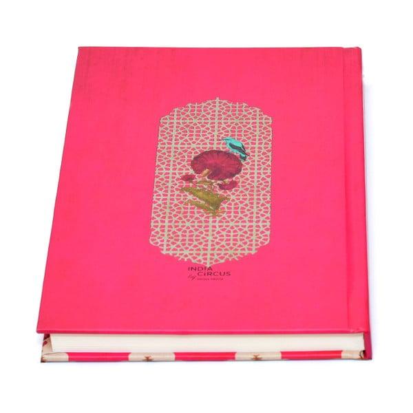 Zápisník Kuheli Floral Feather, A5