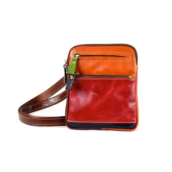 Kožená kabelka Santo Croce 108668 Multicolor