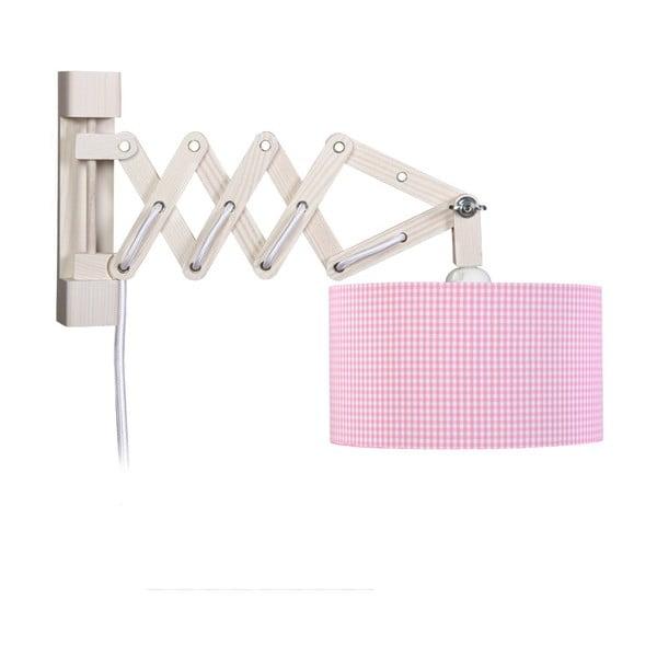 Nástěnné světlo Pink Vichy