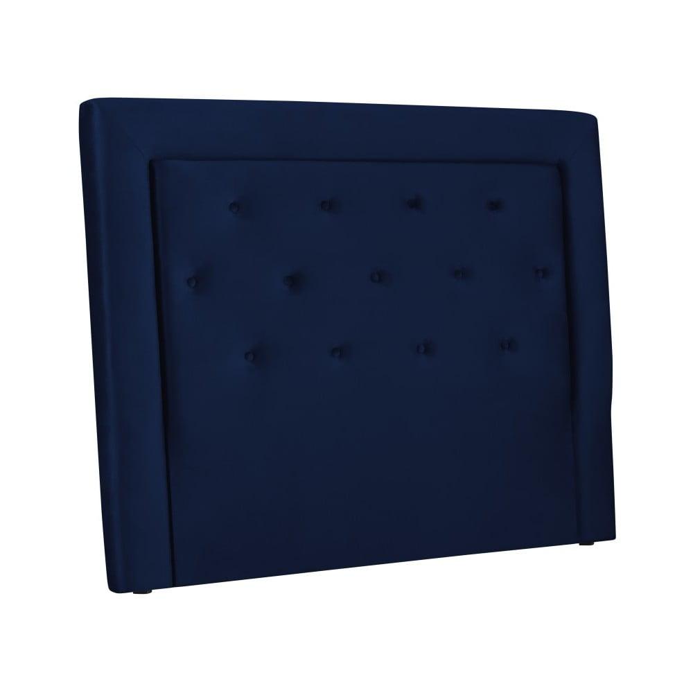 Tmavě modré čelo postele Cosmopolitan Design Cloud, šířka 140 cm