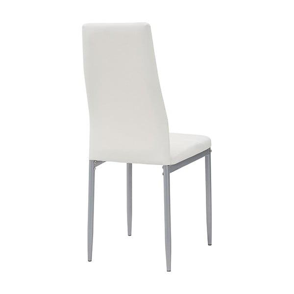 Jídelní židle Queen, bílá