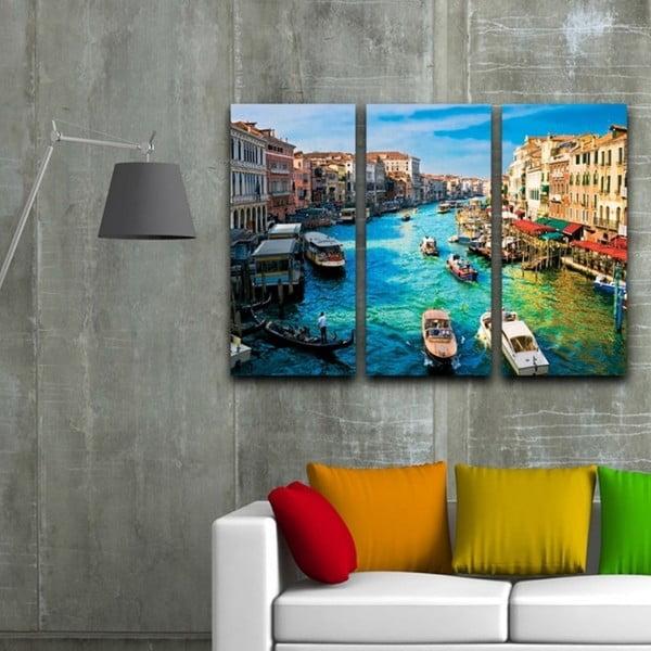3dílný obraz Benátky