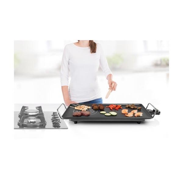 Černý elektrický stolní gril Princess Table Chef Hot-Zone, příkon 2500W