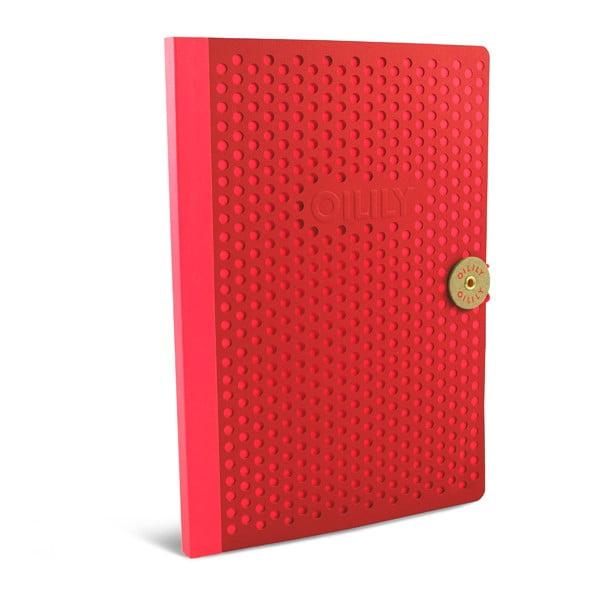 Linkovaný zápisník B5 Portico Designs Oilily, 160 stránek