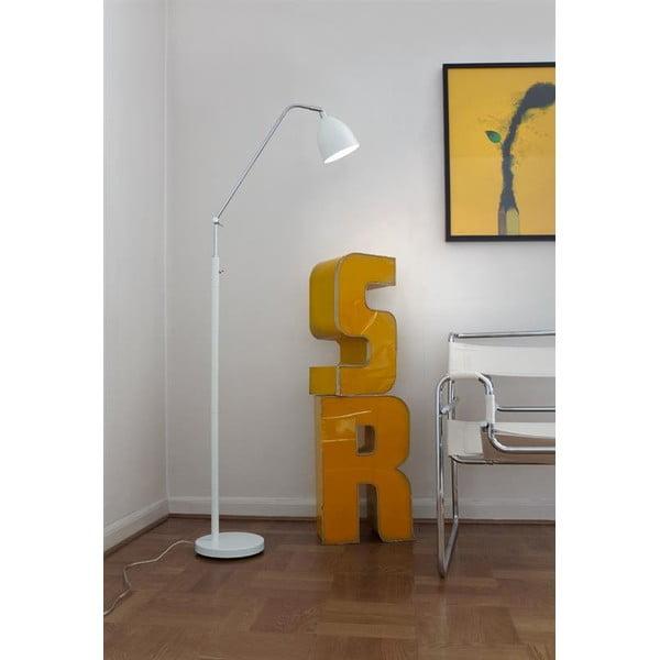 Bílá stojací lampa Markslöjd Fredrikshamn