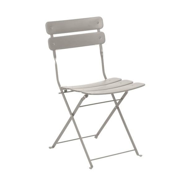 Šedobéžová židle La Forma Ambition