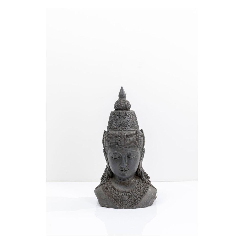 Dekorativní šedá soška Kare Design Asia, výška 72 cm