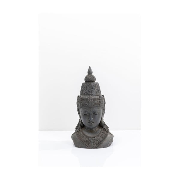 Dekoratívna sivá soška Kare Design Asia, výška72cm