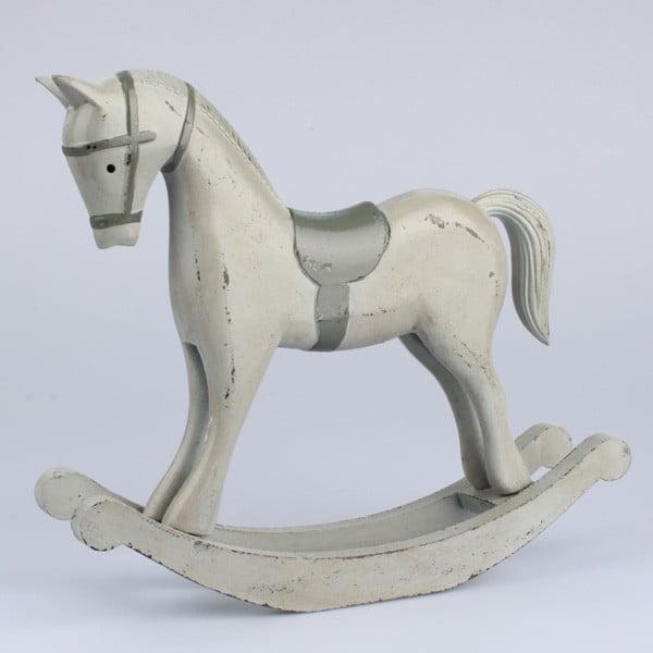 Dekorace dřevěný kůň II