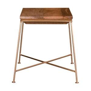 Příruční stolek s deskou z mangového dřeva House Nordic Dui