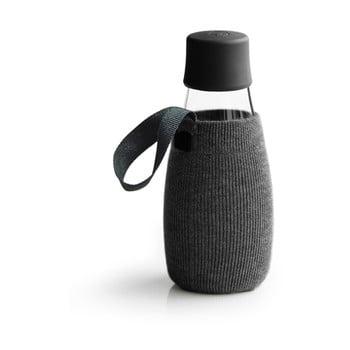 Husă pentru sticlă cu garanție pe viață ReTap, 300 ml, negru de la ReTap