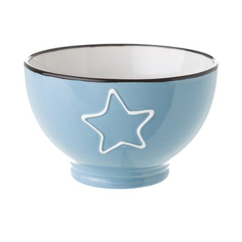 Bol din ceramică Unimasa Star, 580 ml, albastru imagine
