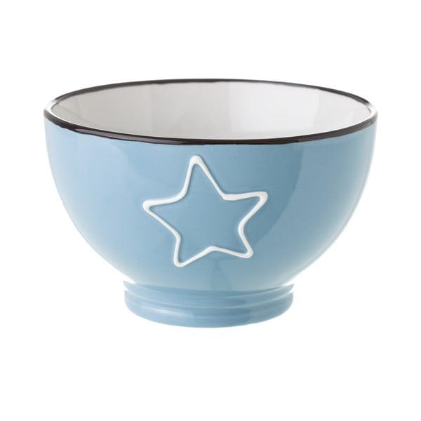 Star kék kerámia tálka, 580 ml - Unimasa