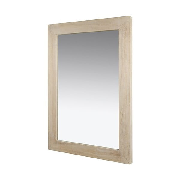 Nástěnné zrcadlo s rámem ze dřeva paulownia Santiago Pons Tina, 75x106cm