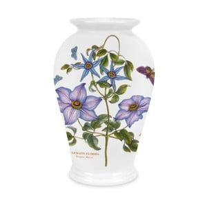 Kameninová váza s květinami Portmeirion, výška 20 cm