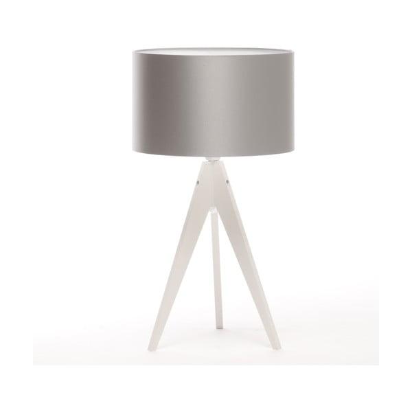 Stolní lampa Artist Silver/White, 65 cm