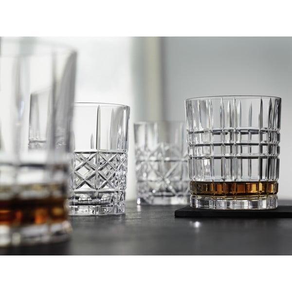 Sada 4 whiskových sklenic z křišťálového skla Nachtmann Highland, 345 ml