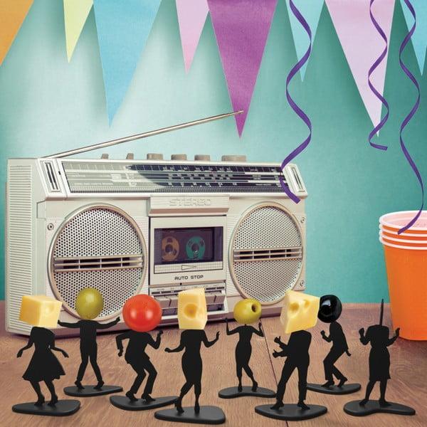 Sada 16 párty napichovátek Fred & Friends Boogie Bites