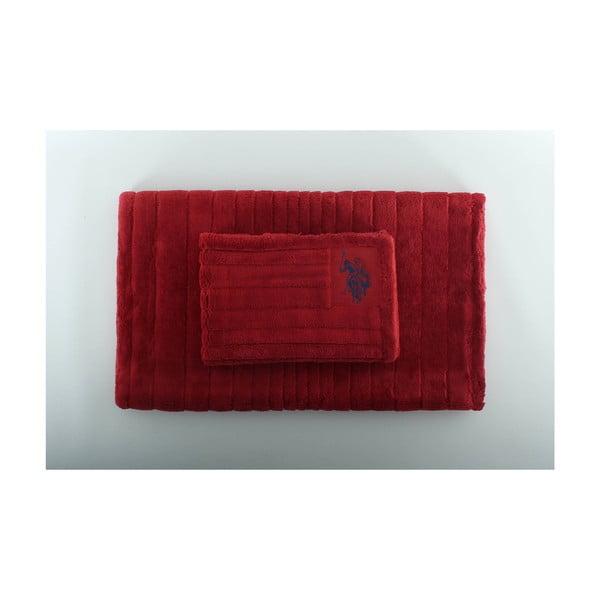 Sada 2 koupelnových předložek Joplin Red
