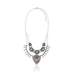 Dámský náhrdelník ve stříbrné barvě NOMA Magdalene